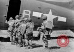 Image of C 47 aircraft with American paratroopers in World War 2 European Theater, 1943, second 21 stock footage video 65675041942