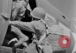 Image of C 47 aircraft with American paratroopers in World War 2 European Theater, 1943, second 47 stock footage video 65675041942