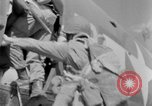 Image of C 47 aircraft with American paratroopers in World War 2 European Theater, 1943, second 49 stock footage video 65675041942