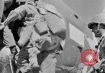 Image of C 47 aircraft with American paratroopers in World War 2 European Theater, 1943, second 50 stock footage video 65675041942