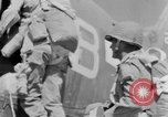 Image of C 47 aircraft with American paratroopers in World War 2 European Theater, 1943, second 51 stock footage video 65675041942