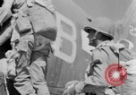 Image of C 47 aircraft with American paratroopers in World War 2 European Theater, 1943, second 52 stock footage video 65675041942