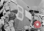 Image of C 47 aircraft with American paratroopers in World War 2 European Theater, 1943, second 53 stock footage video 65675041942