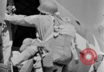 Image of C 47 aircraft with American paratroopers in World War 2 European Theater, 1943, second 54 stock footage video 65675041942