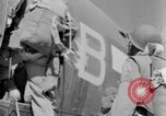 Image of C 47 aircraft with American paratroopers in World War 2 European Theater, 1943, second 56 stock footage video 65675041942