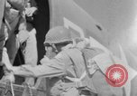 Image of C 47 aircraft with American paratroopers in World War 2 European Theater, 1943, second 57 stock footage video 65675041942