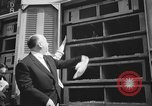 Image of Alfred Hitchcock New York City USA, 1963, second 7 stock footage video 65675041949
