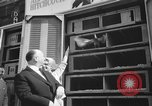 Image of Alfred Hitchcock New York City USA, 1963, second 10 stock footage video 65675041949
