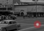 Image of Hollywood and Vine in 1950 Los Angeles California USA, 1950, second 21 stock footage video 65675041953