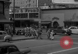 Image of Hollywood and Vine in 1950 Los Angeles California USA, 1950, second 26 stock footage video 65675041953