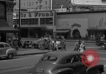 Image of Hollywood and Vine in 1950 Los Angeles California USA, 1950, second 27 stock footage video 65675041953