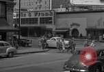 Image of Hollywood and Vine in 1950 Los Angeles California USA, 1950, second 28 stock footage video 65675041953