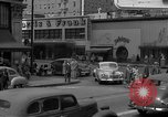 Image of Hollywood and Vine in 1950 Los Angeles California USA, 1950, second 30 stock footage video 65675041953