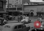 Image of Hollywood and Vine in 1950 Los Angeles California USA, 1950, second 31 stock footage video 65675041953