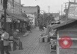 Image of Olvera and Bloom Streets California United States USA, 1950, second 7 stock footage video 65675041954