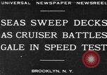 Image of USS Pensacola Brooklyn New York City USA, 1930, second 1 stock footage video 65675041974