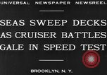Image of USS Pensacola Brooklyn New York City USA, 1930, second 5 stock footage video 65675041974