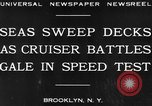 Image of USS Pensacola Brooklyn New York City USA, 1930, second 7 stock footage video 65675041974
