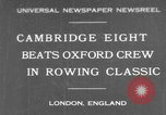 Image of Rowing Classic London England United Kingdom, 1931, second 1 stock footage video 65675041975