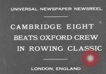 Image of Rowing Classic London England United Kingdom, 1931, second 2 stock footage video 65675041975