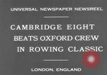 Image of Rowing Classic London England United Kingdom, 1931, second 5 stock footage video 65675041975