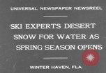 Image of surf board Winter Haven Florida USA, 1931, second 2 stock footage video 65675041976