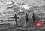 Image of surf board Winter Haven Florida USA, 1931, second 16 stock footage video 65675041976