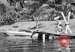 Image of surf board Winter Haven Florida USA, 1931, second 23 stock footage video 65675041976