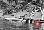 Image of surf board Winter Haven Florida USA, 1931, second 24 stock footage video 65675041976