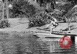 Image of surf board Winter Haven Florida USA, 1931, second 26 stock footage video 65675041976