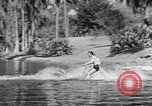 Image of surf board Winter Haven Florida USA, 1931, second 28 stock footage video 65675041976
