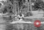 Image of surf board Winter Haven Florida USA, 1931, second 30 stock footage video 65675041976