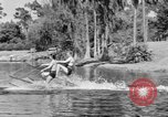 Image of surf board Winter Haven Florida USA, 1931, second 31 stock footage video 65675041976
