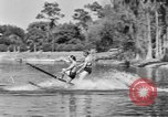 Image of surf board Winter Haven Florida USA, 1931, second 32 stock footage video 65675041976