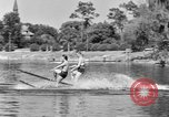Image of surf board Winter Haven Florida USA, 1931, second 33 stock footage video 65675041976