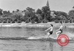Image of surf board Winter Haven Florida USA, 1931, second 34 stock footage video 65675041976