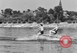 Image of surf board Winter Haven Florida USA, 1931, second 35 stock footage video 65675041976