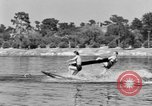 Image of surf board Winter Haven Florida USA, 1931, second 36 stock footage video 65675041976
