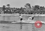 Image of surf board Winter Haven Florida USA, 1931, second 38 stock footage video 65675041976