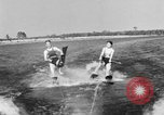 Image of surf board Winter Haven Florida USA, 1931, second 52 stock footage video 65675041976