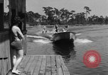 Image of surf board Winter Haven Florida USA, 1931, second 55 stock footage video 65675041976