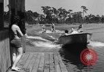 Image of surf board Winter Haven Florida USA, 1931, second 56 stock footage video 65675041976