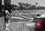 Image of surf board Winter Haven Florida USA, 1931, second 57 stock footage video 65675041976