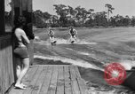 Image of surf board Winter Haven Florida USA, 1931, second 58 stock footage video 65675041976