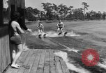 Image of surf board Winter Haven Florida USA, 1931, second 59 stock footage video 65675041976