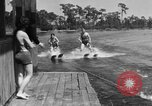 Image of surf board Winter Haven Florida USA, 1931, second 60 stock footage video 65675041976