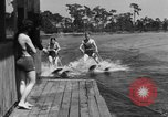 Image of surf board Winter Haven Florida USA, 1931, second 61 stock footage video 65675041976