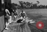 Image of surf board Winter Haven Florida USA, 1931, second 62 stock footage video 65675041976