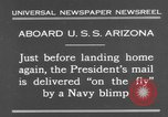 Image of President Hoover aboard USS Arizona United States USA, 1931, second 3 stock footage video 65675041983