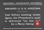 Image of President Hoover aboard USS Arizona United States USA, 1931, second 4 stock footage video 65675041983